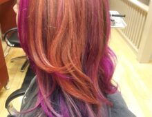 Women's color and cut